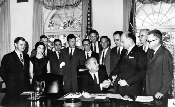 FDR signs Executive Order for REA