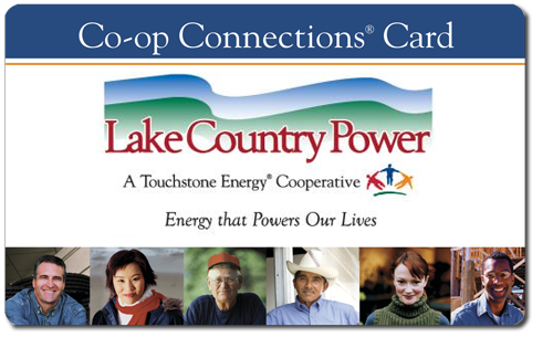 LCP Co-op Connections card