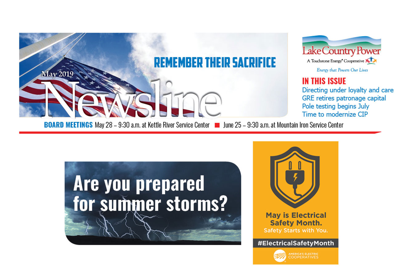 Newsline promotion May